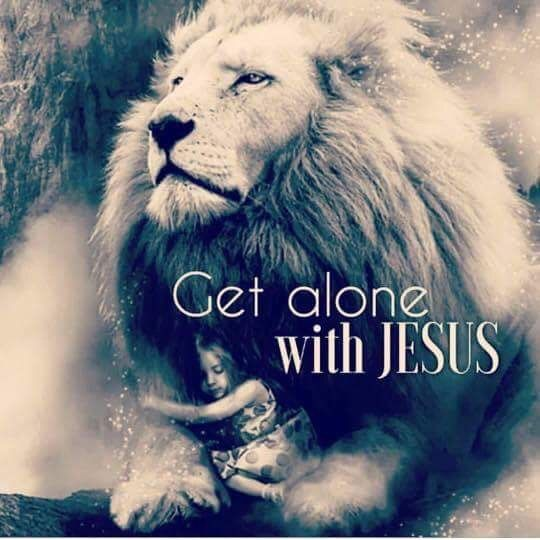 Spend time with Jesus!