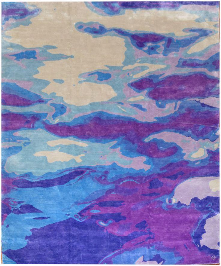 Choppy Waters (purple mood) | Emma Gardner Design