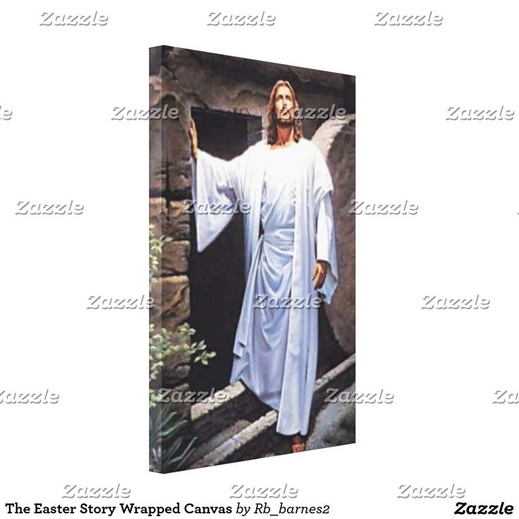 13 christian gift ideas pinterest the easter story wrapped canvas negle Image collections