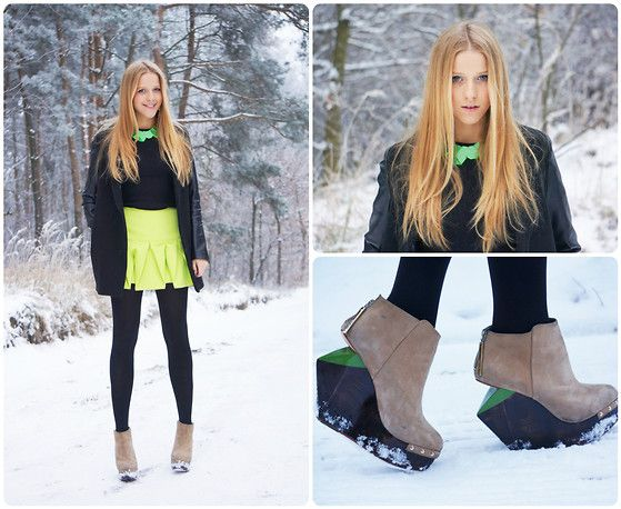 XOOXOO LIME! (by Jessica Mercedes Kirschner) http://lookbook.nu/look/4373830-XOOXOO-LIME