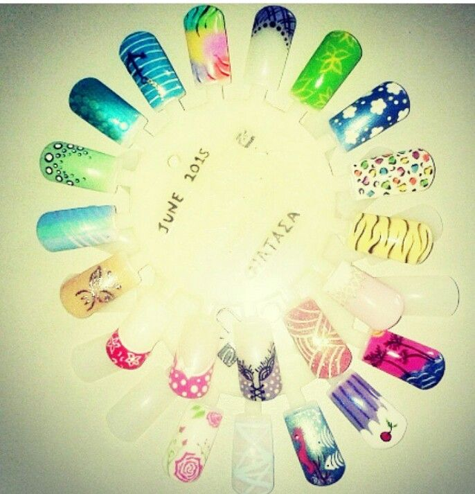 #nailart #naildesigns #nails #cnd #shellac
