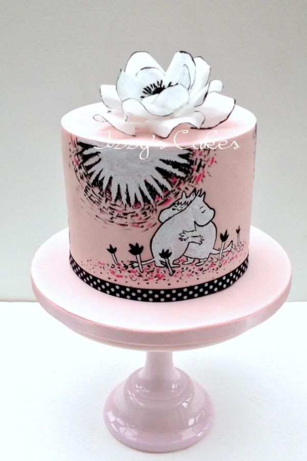 Moomins in love! By Izzy's Cakes