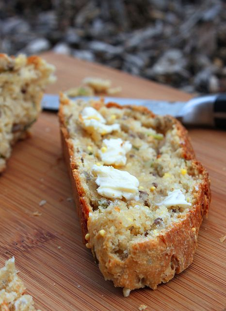 Hearty Whole Grain Basil Bread