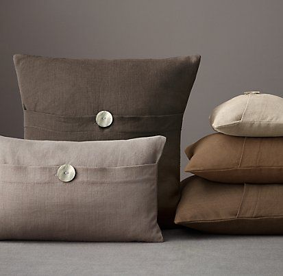 14 best images about Pillows, Cushions, Inserts on Pinterest Green, Linen pillows and Blue and