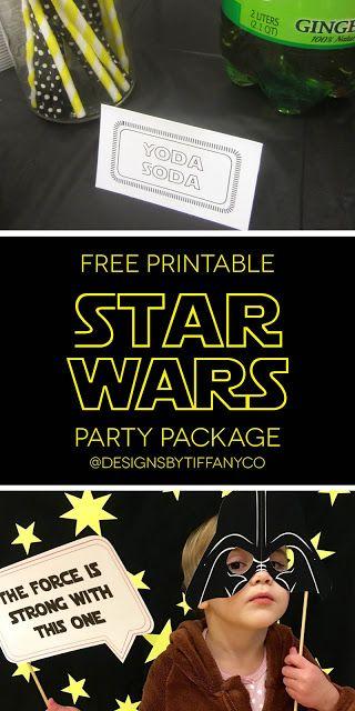 Freebie: Star Wars Party Package