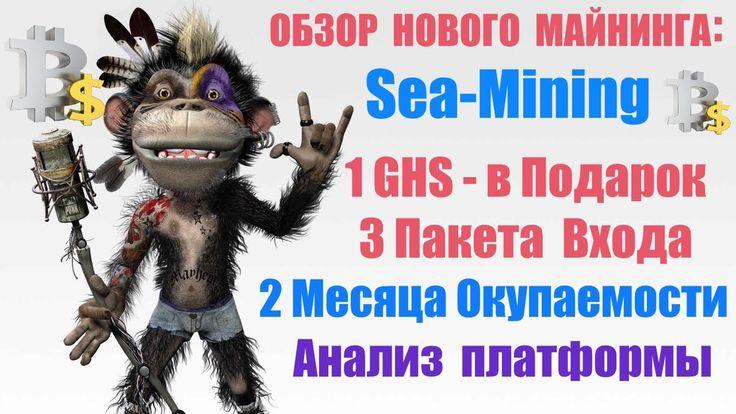 Обзор майнинга Sea mining! 1GHS в Подарок!