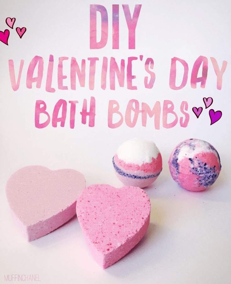 I made the cutest bath bombs for Valentine's Day with this recipe. ♡ They turned out really great like the ones from lush and they were pretty inexpensive. Kids would love this - so fun. DIY Valentine's Day Bath Bombs 2017 MuffinChanel
