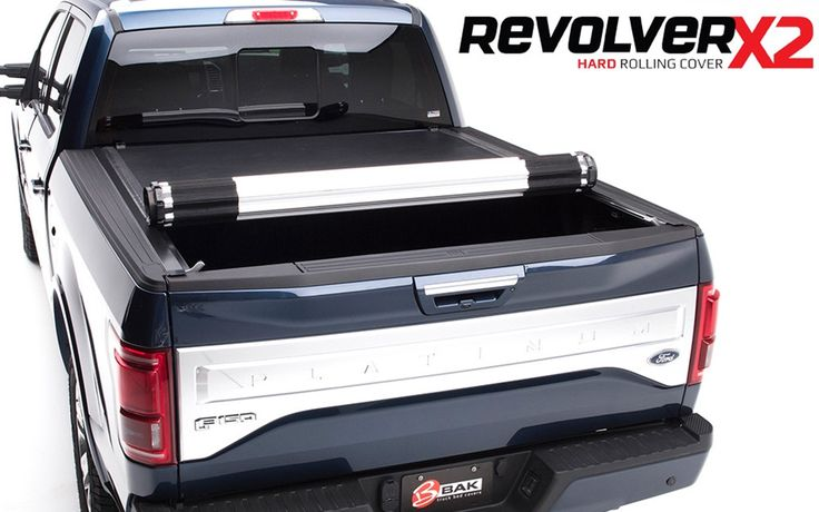 Brand new design from the leader in truck tonneau bed covers, Bak Industries. Who knew that there could ever be a cover that is both a HARD cover, and has the capability to be ROLLED UP in seconds! Plus it retains the ability to see out of the back window! Totally unique ingenious truck tonneau cover! This one fits the Chevy Silverado and the GMC Sierra 5.8 Ft. Bed length.