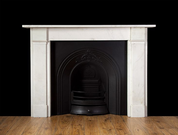 Statuary Marble Fireplace – 19213 – 19th Century, …