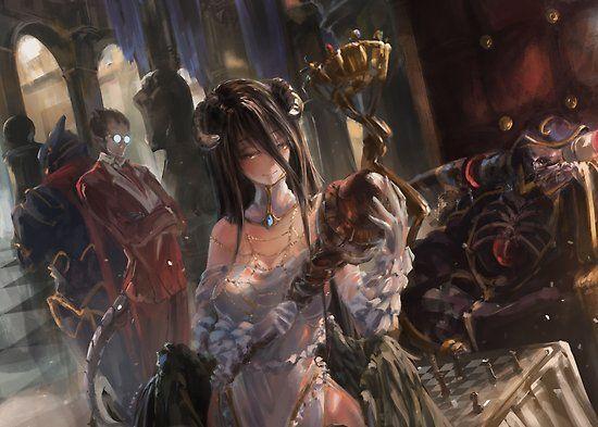 90 Gambar Overlord Terbaik Di 2020 Animasi Seni Seni Anime