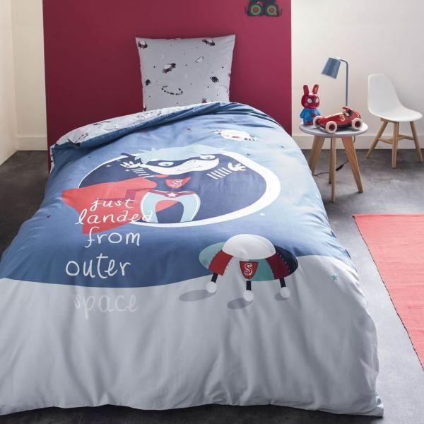 Housse De Couette Gravity Boy 140x200cm 1 Personne 100 Coton Housse De Couette Parure Housse De Couette Et Couette