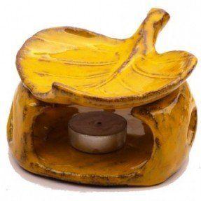 Na zamówienie - Ceramiczny kominek na olejki eteryczne. Wystarczy zapalić