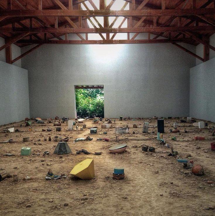 An ephemeral installation by Adrián Villar Rojas, documented by filmmaker Jordan Bahat takes you inside an immersive experience