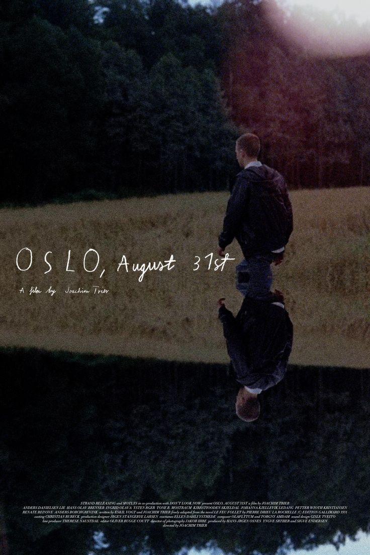 Oslo, August 31st - Joachim Trier