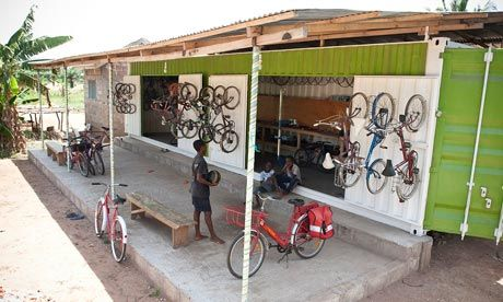 Re~Cycle - A project that gives discarded bikes a second chance at life, by refitting bikes for sale or donation to Africa