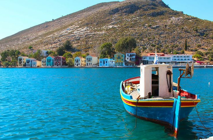 The picture-perfect colourful Greek island of Meis/ Kastellorizo gallivantgirl.com
