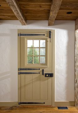 Dutch Door - traditional - front doors - philadelphia - Fredendall Building Company