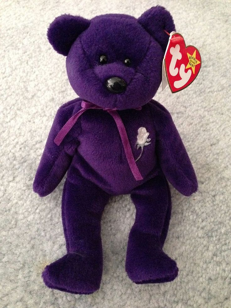 Childhood toys now worth serious money- BEANIE BABIES Beanie Babies are probably the biggest thing to come out of the 1990s, and the price on these animals varies. While the more common ones aren't worth much, a collectible like this Princess Diana bear could be sold for up to £130,000!