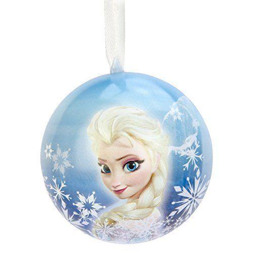 disney frozen elsa hallmark tin christmas tree ornament httpwwwamazon - Frozen Christmas Tree Ornaments