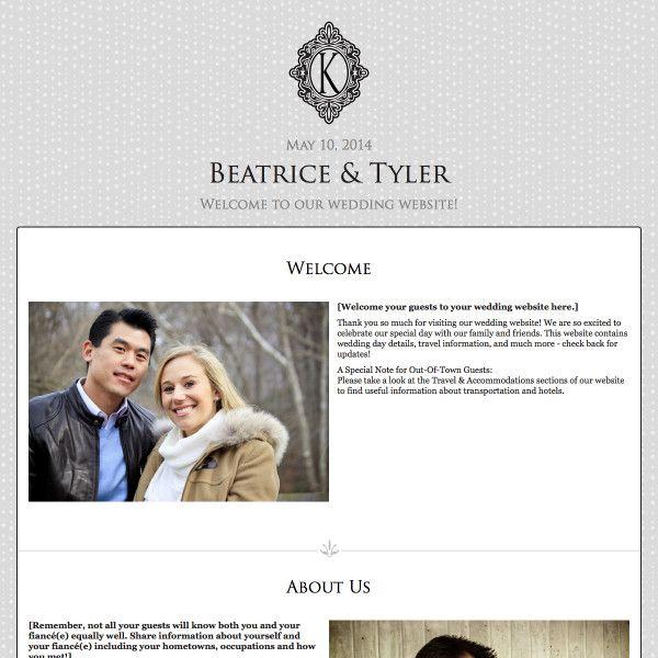 25 best Wedding Website Designs images on Pinterest Design
