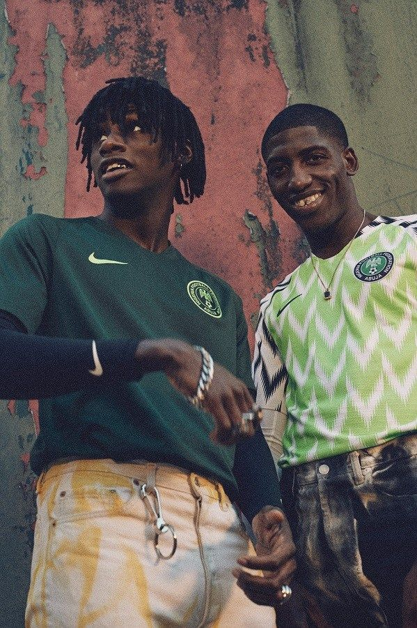 Nigeria 2018 World Cup Nike Home and Away Football Kit fb519badf