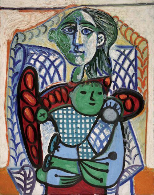 Picasso, Maternité (1948) http://sirobtep.tumblr.com/post/22889707672/nyarlotep: Modern Art, Picasso Works, 1881 1973, Art Picasso, Art Pablo Picasso, Oil, Artist Picasso Pablo