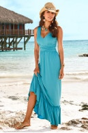 Boston Proper V-neck vacation dress... very nice!