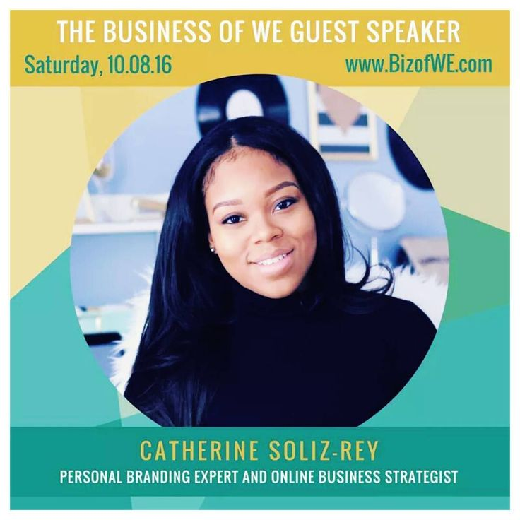 Today we are so excited to announce... Catherine Soliz-Rey - Fierce Hustler as one of our speakers for The Business of WE 2016 Summit!  Catherine is your NO B.S. personal branding expert online business strategist and self-development enthusiast. Her mission is to help women fearlessly monetize and market their message and expertise online  all while becoming their fiercest selves. She is a certified speaker creator of Fierce Hustler Brand where she reaches tens of thousands of followers every day through her platforms.  Catherine has trained hundreds of entrepreneurs how to stand out and succeed. She does this through online training programs courses and live events.  She is 100% dedicated to helping women elevate their business brand sales and confidence while becoming fierce fearless and fulfilled in all areas of their life  so they can step into their potential create a freedom-based business and live to the fullest. Tomorrow you have the opportunity to meet our POWERFUL PANEL OF EXPERTS including Catherine who will share insights on how to START GROW and THRIVE as a successful business owner. Register here http://ift.tt/2aNRkaU PS. Buy 1 full priced #WEConnect: POWER PROFIT PANEL DISCUSSION ticket and bring a friend FREE of charge! Purchase must be made by Monday September 19th 11:59 pm. (No code required.) Space is limited so ACT NOW! http://bizofwe.eventbrite.com Step into your VISION and BEST VERSION of you!  Link in bio  #BrandStrategiest #WomenEmpoweringWomen #WomenInspiringWomen #BusinessofWE #WETogether . . . . . . . . . . . . . . . .