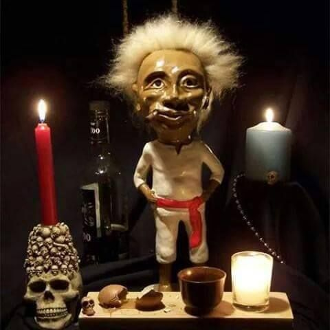 "Jobu. From the 1989 movie ""Major League"". Cleveland Indians fans still talk about him today. He even has his own Twitter account! #RollTribe."