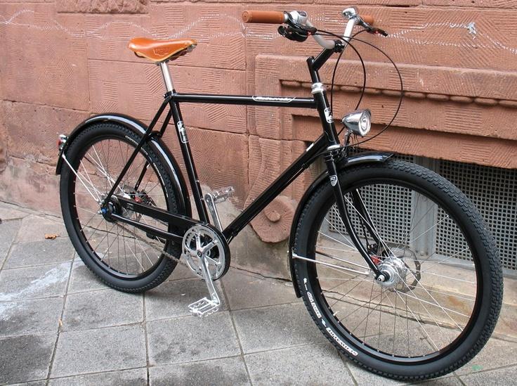 der radladen - fahrradgeschäft in mannheim: retrovelo paul mit alfine und avid disc