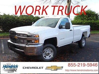 cool 2016 Chevrolet Silverado 2500 2WD Reg Cab 133.6 Work Truck - For Sale View more at http://shipperscentral.com/wp/product/2016-chevrolet-silverado-2500-2wd-reg-cab-133-6-work-truck-for-sale/