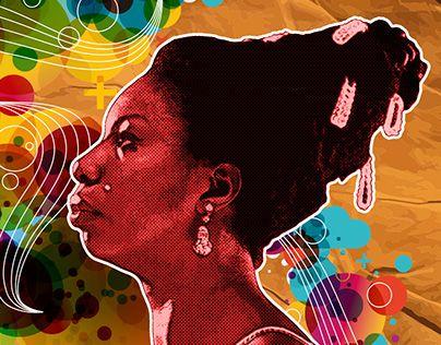 "Check out new work on my @Behance portfolio: ""nina simone"" http://be.net/gallery/35410427/nina-simone"