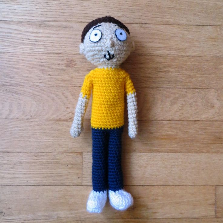 Amigurumi Rick And Morty : 9838 best crochet toys images on Pinterest