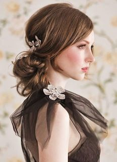 Bridal hairstyles for long hair: 2014 trends.