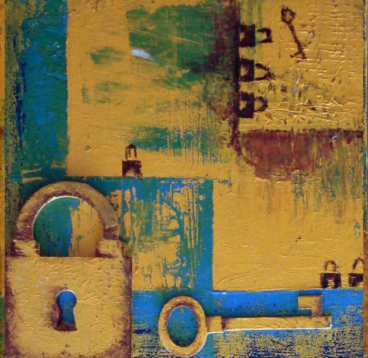 Acrylic colours on wood  20*20 cm  By :Aya Fayez