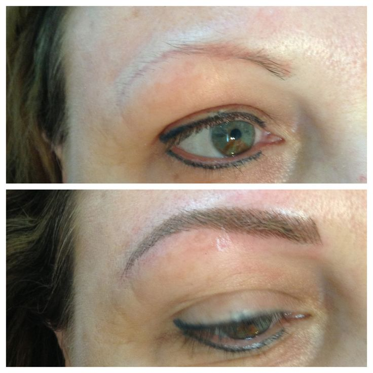 36 best eyebrow tattoo images on pinterest brows dip for Eyebrow tattoo images
