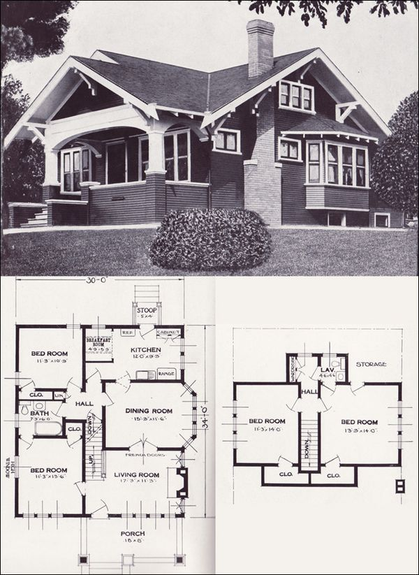old style bungalow house plans