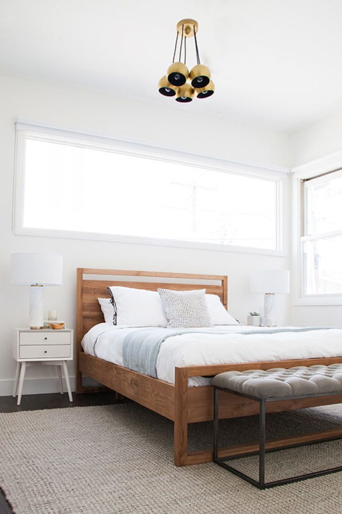 "This <a href=""http://www.crateandbarrel.com/linea-bed/f34490"" target=""_blank"">bed</a> was one of my favorite finds. If you've ever searched for an affordable modern wooden bed, you'll know it's not easy to find one that isn't $150,000. And it kind of makes me want a new bed to replace <a href=""http://hommemaker.com/2014/08/07/a-new-bedroom-gets-newer-with-some-new-newness/"" target=""_blank"">my new one</a>."