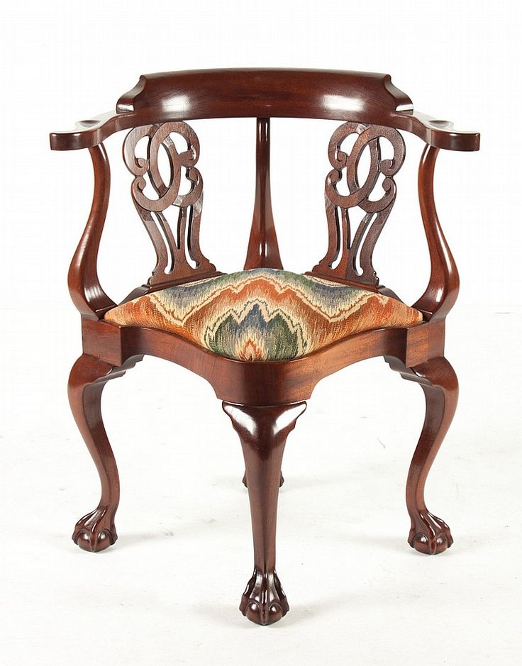 17 best images about antique chairs on pinterest see for Meuble chippendale