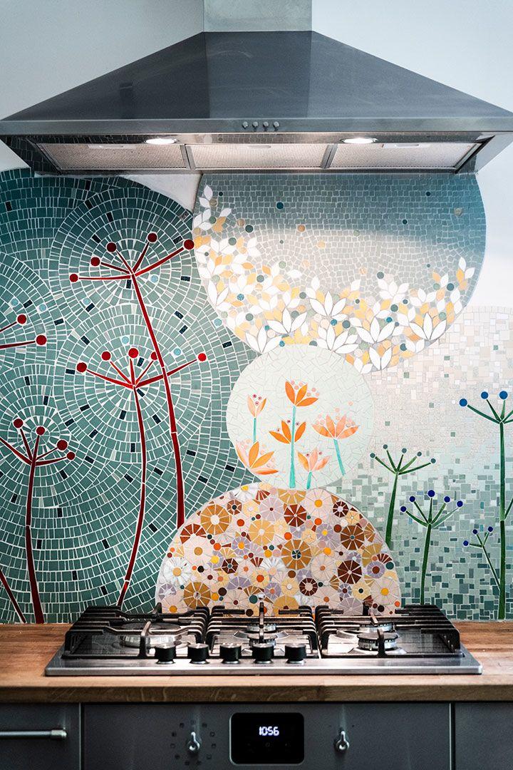 Credence De Cuisine En Mosaique Frise Mosaique Credence Cuisine Mosaique Idees Murales