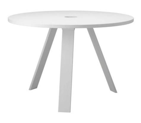 Marvelous 10 Easy Pieces: Simple White Round Dining Tables