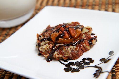 Chocolate Turtle Cookies - cookie exchange recipe 2