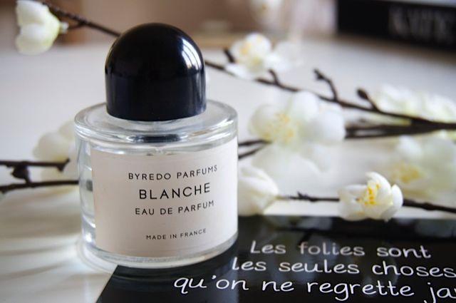 Il bianco è trasparenza, purezza, innocenza... BLANCHE di Byredo