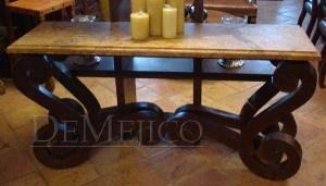 Rustic Mexican furniture from Guadalajara.