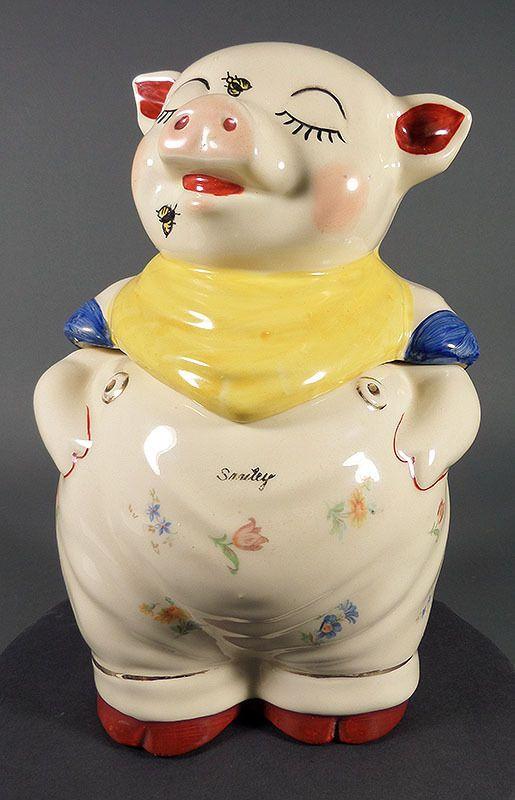 226 Best Images About Piggy Cookie Jar On Pinterest