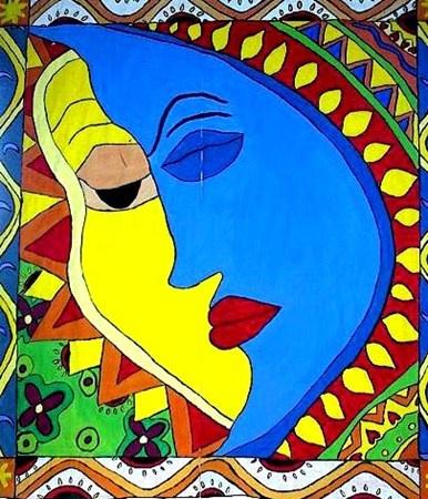The Madhubani Painters of India - Art Lesson