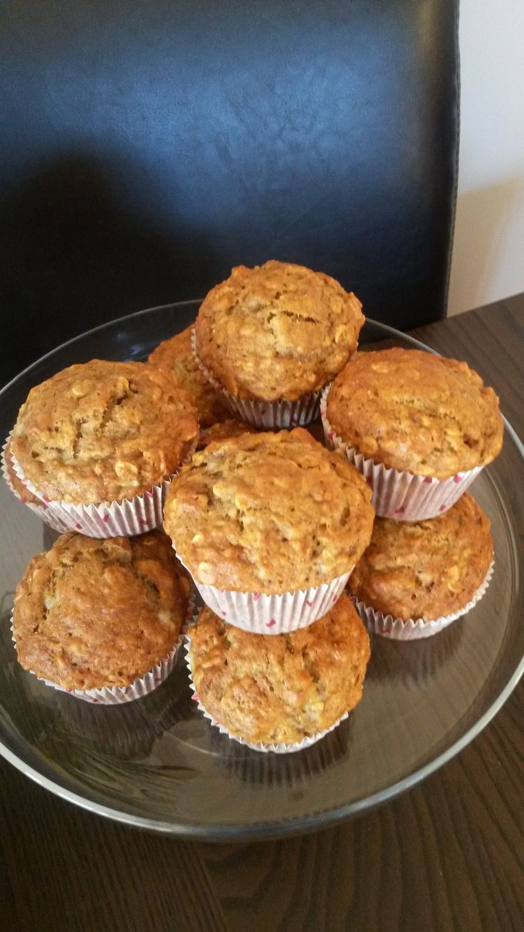 Gordon Ramsay Banana Oat Muffins  These Were Easy To Veganize And  Delicious!