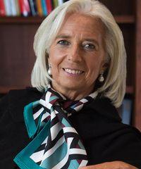 International Monetary Fund (IMF) managing director Christine Lagarde