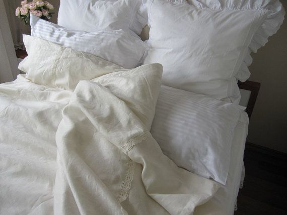 Hey, I found this really awesome Etsy listing at https://www.etsy.com/listing/122891475/queen-duvet-cover-linen-ivory-cream