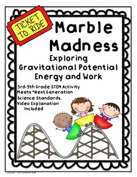 This is a fun activity to add to your forces and motions unit.  Students will not forget this hands on activity.  The activities meet the *Next Generation Science Standards 3rd Grade Forces and Interactions, 4th Grade Energy, and 3rd, 4th, 5th Grade Science and Engineering Practices.In activity 1 students will complete an investigation following the scientific method to answer the question:  Does the height of a marble affect the distance a cup will travel?